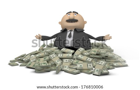 Win Money - stock photo