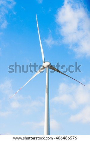 wind power - electricity production