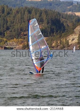 Wind Surfing - stock photo
