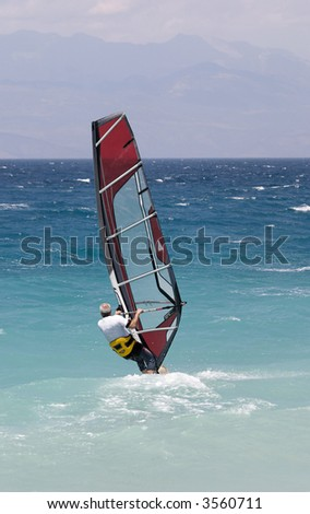 Wind surfing for all ages
