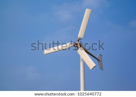 Wind turbine clean energy in Thailand