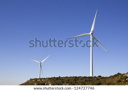 Wind Turbine Field; or windmill or wind pump.