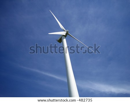 Wind turbine in Ontario