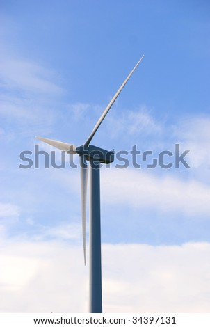 Wind turbine in the norther sweden