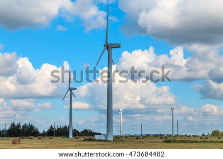 wind turbines generators