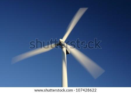 Wind turbines, Sweden. - stock photo