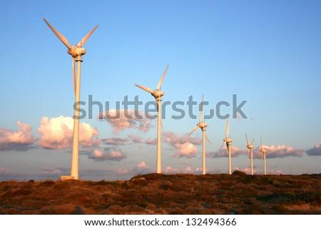 Windmill Farm - stock photo