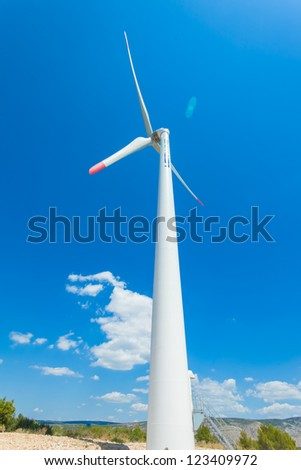 Windmill is a machine that is used to produce electricity.