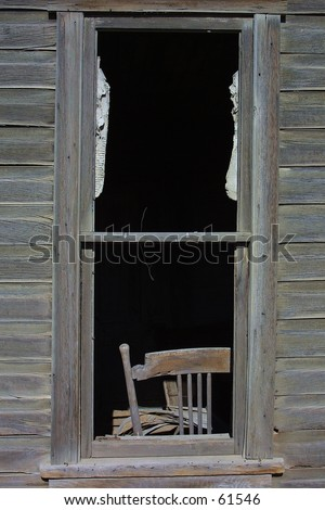 Window Chair - stock photo