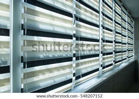 window fabric blinds