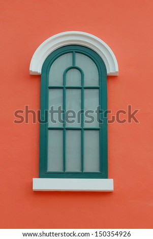 Window on the wall color.