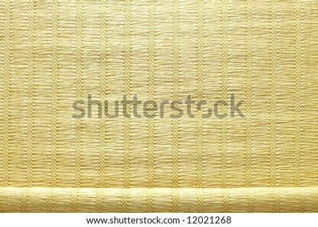 Window sun blind cloth with light straps - stock photo