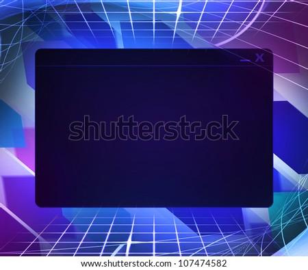 Window Technology Concept Background - stock photo