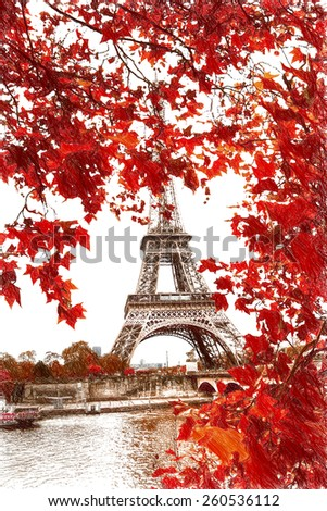 Window to Paris. Architecture of Paris .France. Europe - stock photo