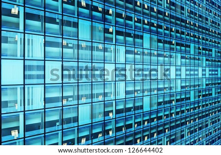 Windows aspiring in prospect - stock photo