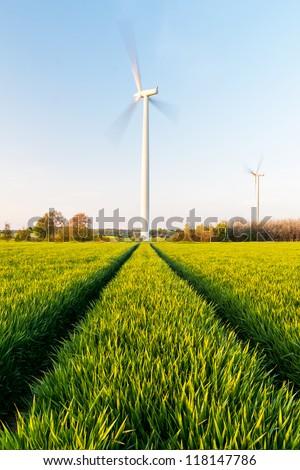 Windpark, Deutschland - stock photo