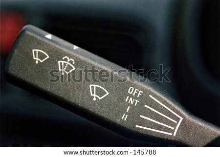 Windscreen wipers - stock photo