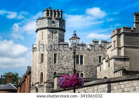 Windsor castle, London, England, UK - stock photo
