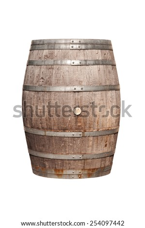 wine cask - stock photo
