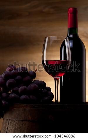 Wine concept - stock photo