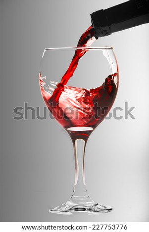 Wine cup - stock photo