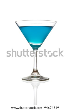 wine glass isolated