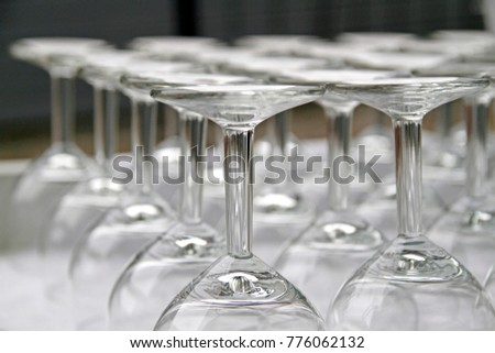 Wine glasses background