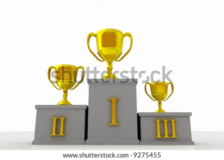 Winner 2 - stock photo