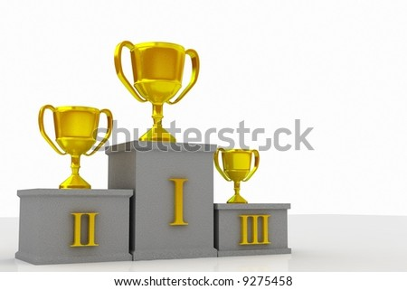 Winner3 - stock photo