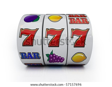 Winning line - stock photo