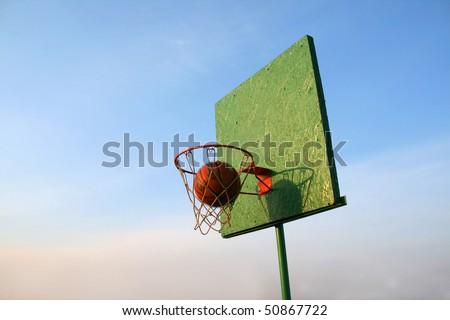Winning shot - stock photo