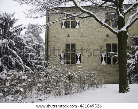 winter at the kolvenburg