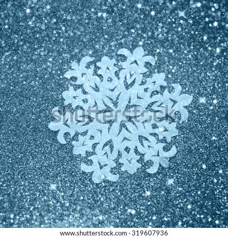 Winter background - stock photo