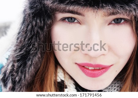 Winter girl or I love you