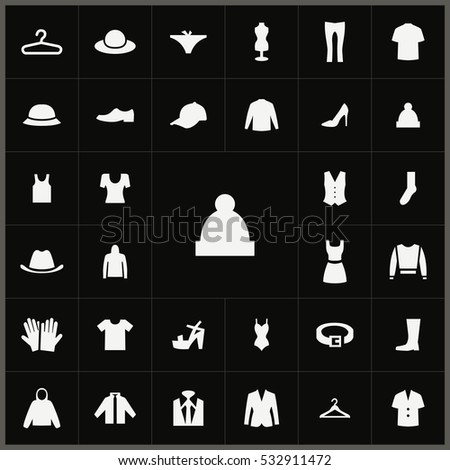 winter hat icon. clothes icons universal set for web and mobile