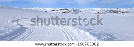 winter sports areas in Norway