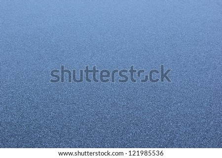 Winter texture of a frozen lake - ice - stock photo