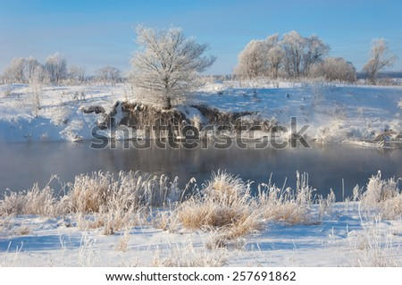winter, winter-tide, winter-time,  hibernate, he coldest season of the year, in the northern hemisphere from December to February and in the southern hemisphere from June to August. - stock photo