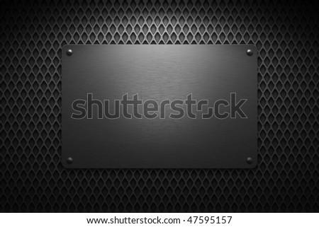 Wire Mesh Background & Frame - stock photo
