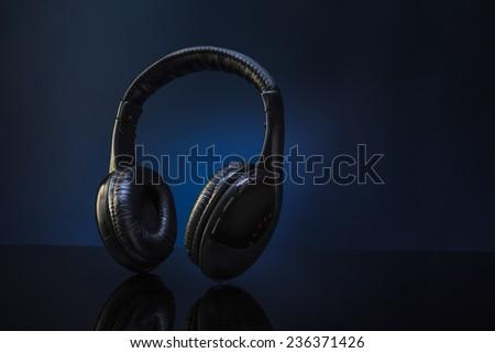 Wireless Headphones - stock photo