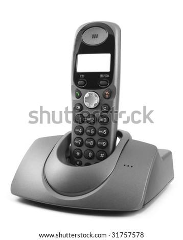 wireless phone - stock photo
