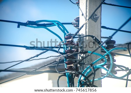 stock photo wiring harness 745617856 wiring harness for car stock images, royalty free images & vectors Wire Harness Assembly at virtualis.co
