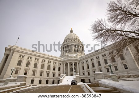 Wisconsin State Legislature - stock photo