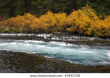Wizard Falls, Oregon - stock photo