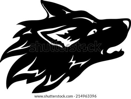 Wolf. - stock photo
