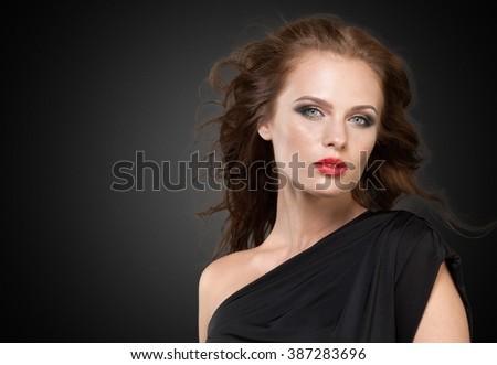 Woman. - stock photo