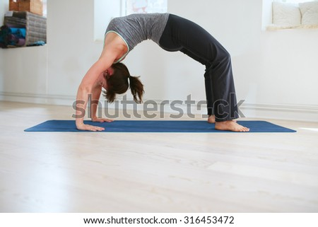 dhanurasana stock photos images  pictures  shutterstock
