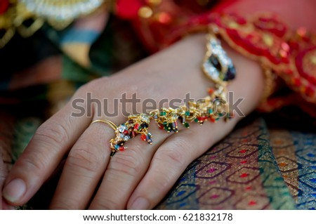 Mehndi Tattoo For Hand : Woman hands black mehndi tattoo stock photo royalty free
