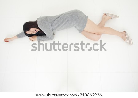 Woman In Relaxing Pose