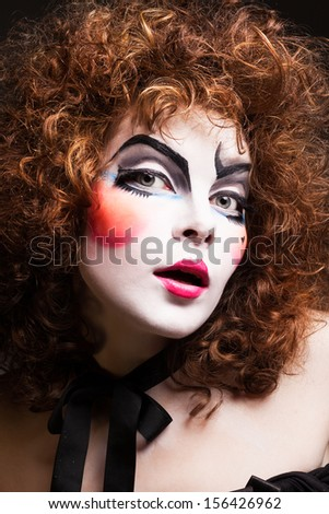 Pale White Face Victorian Ghost Woman Stock Photo 152679671 - Shutterstock